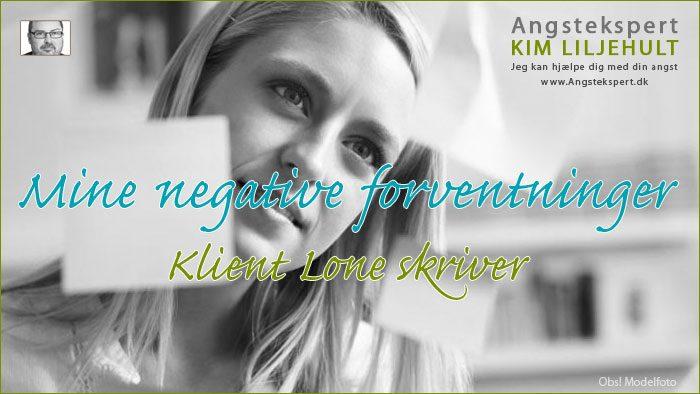 Negative forventninger og negative tanker