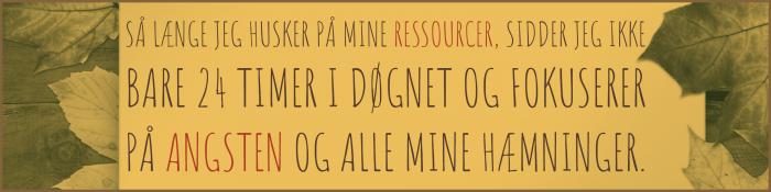 ressourcer og angst